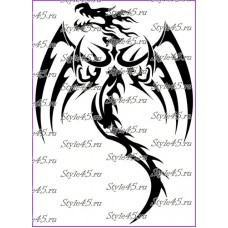 Наклейка Дракон (41)