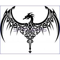 Наклейка Дракон (63)