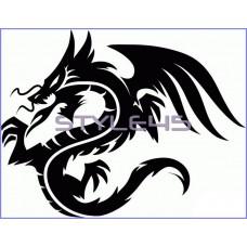 Наклейка Дракон (64)