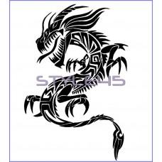 Наклейка Дракон (65)