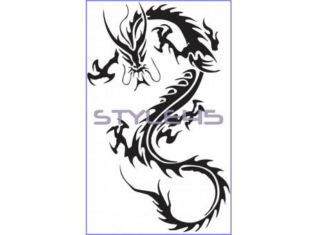 Наклейка Дракон (69)