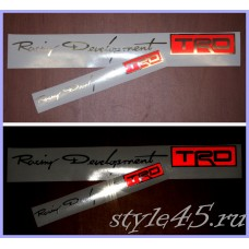 Наклейка Racing Development TRD (156) Светоотражающий логотип