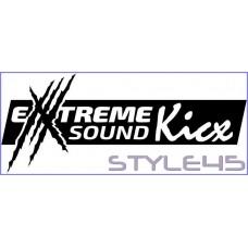 Наклейка на авто Kicx Extreme Sound