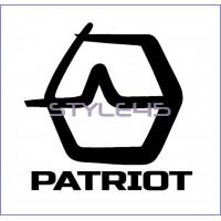 Наклейка на авто Ural Sound patriot