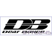 Наклейка на авто Deaf Bonce (2)