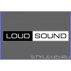 """Наклейка """" Loud Sound """""""