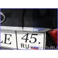Наклейка на крышку багажника Киа Рио 3