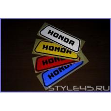 Светоотражающие наклейки на дверь для Honda
