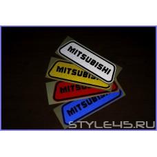 Светоотражающие наклейки на дверь для Mitsubishi