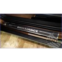Наклейки на пороги Brilliance V5