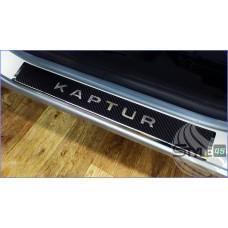 Наклейки на пороги Renault Kaptur