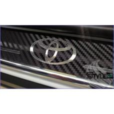 Наклейки на пороги Toyota RAV4 XA50