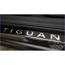 Наклейки на пороги Volkswagen Tiguan Mk 2