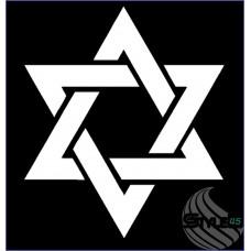 Наклейка Символ иудаизма