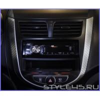Наклейки на панель Hyundai Solaris