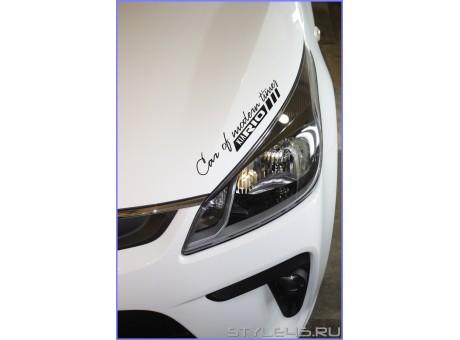 Наклейка Kia Rio Car of modern times