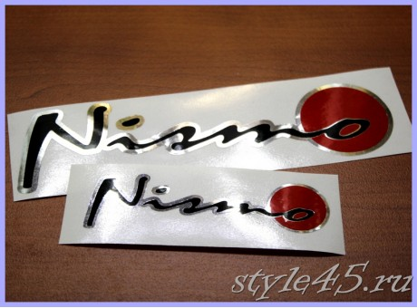 Наклейка NISMO для Nissan (162)