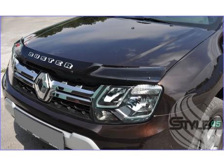 Наклейка на дефлектор капота Renault Duster