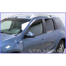 Наклейки на стойки дверей  Nissan Terrano 3