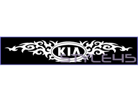 Наклейка тату KIA